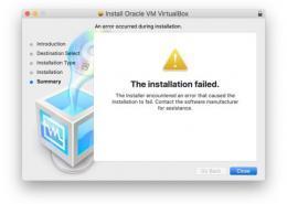 VirtualBox MacOS Mojave de kurulum hatası. VirtualBox MacOS Mojaveye nasıl kurulur?