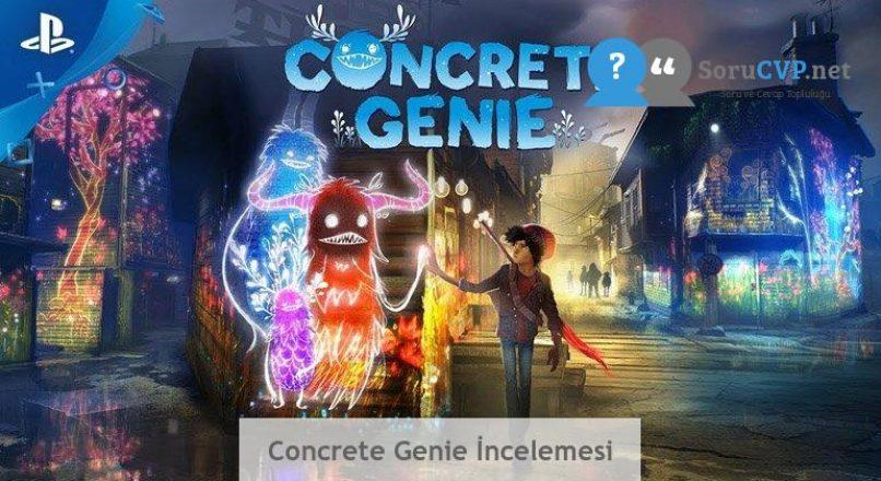Concrete Genie İncelemesi