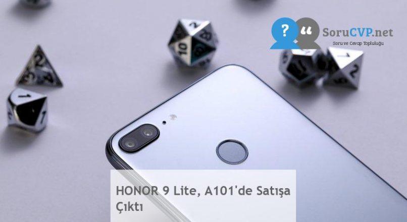 HONOR 9 Lite, A101'de Satışa Çıktı