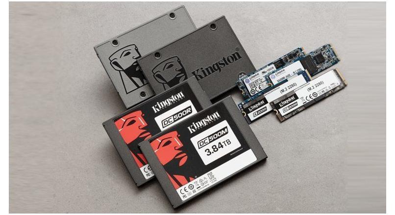 Kingston 13,3 Milyon SSD'yi Piyasaya Sürdü