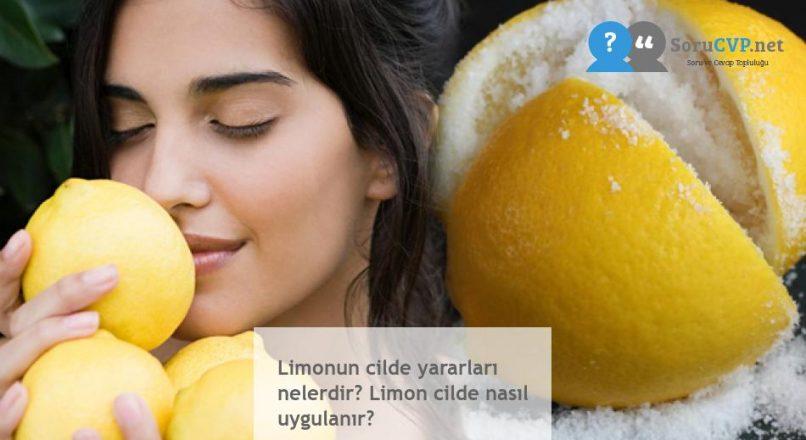 Limonun cilde yararları nelerdir? Limon cilde nasıl uygulanır?