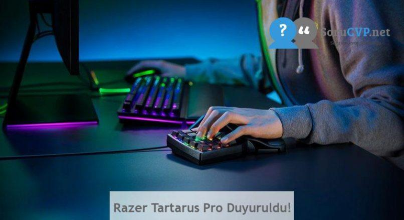 Razer Tartarus Pro Duyuruldu!