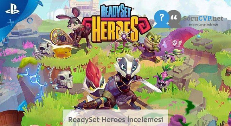 ReadySet Heroes İncelemesi