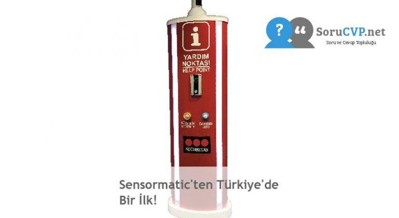 Sensormatic'ten Türkiye'de Bir İlk!