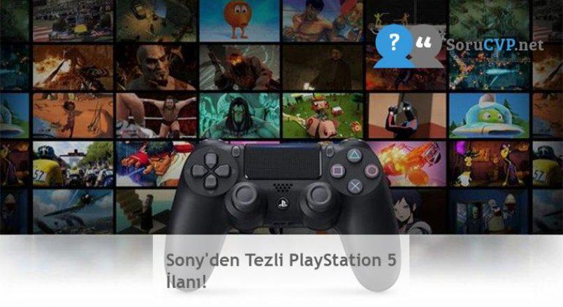 Sony'den Tezli PlayStation 5 İlanı!