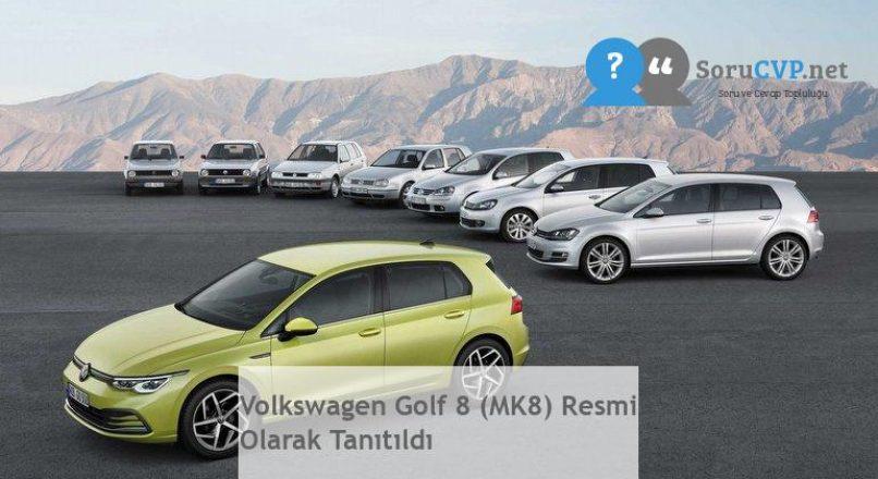 Volkswagen Golf 8 (MK8) Resmi Olarak Tanıtıldı