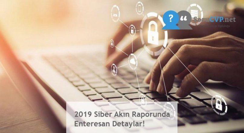 2019 Siber Akın Raporunda Enteresan Detaylar!