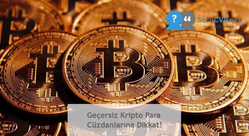 Geçersiz Kripto Para Cüzdanlarına Dikkat!