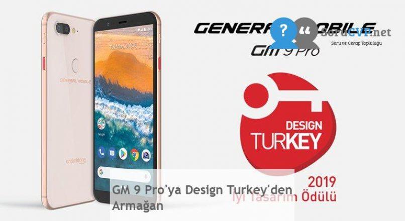 GM 9 Pro'ya Design Turkey'den Armağan
