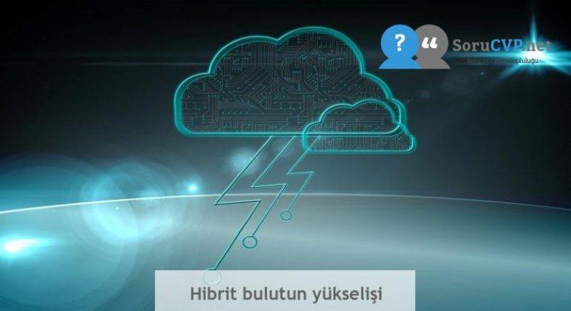 Hibrit bulutun yükselişi