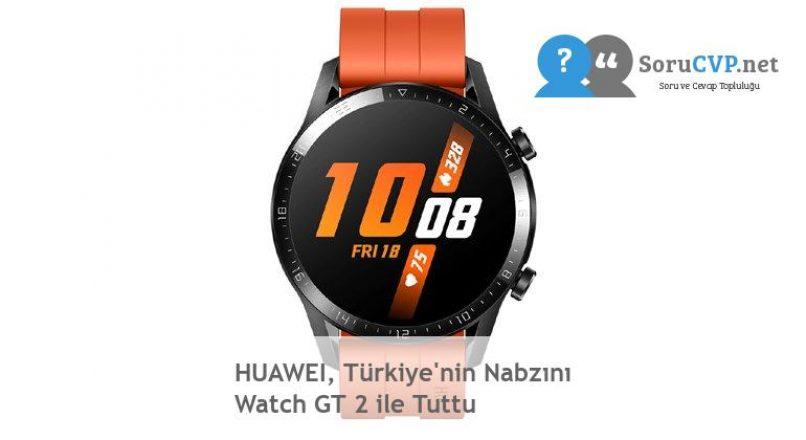 HUAWEI, Türkiye'nin Nabzını Watch GT 2 ile Tuttu
