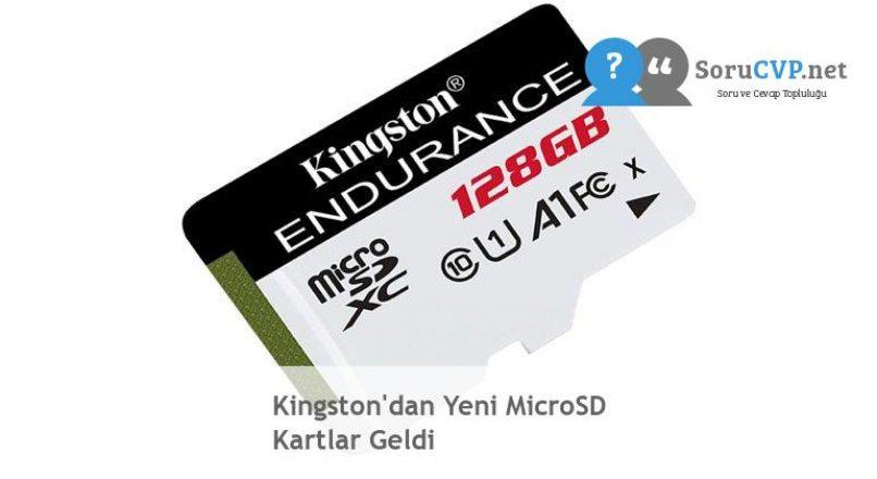 Kingston'dan Yeni MicroSD Kartlar Geldi