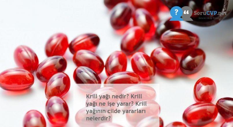 Krill yağı nedir? Krill yağı ne işe yarar? Krill yağının cilde yararları nelerdir?