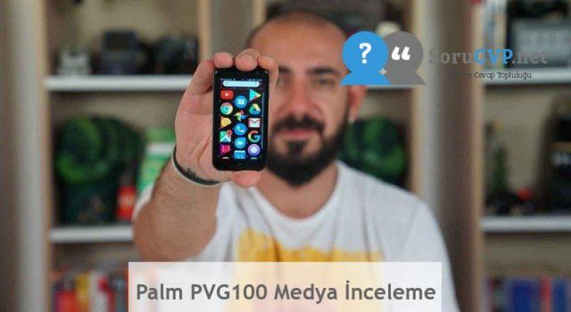 Palm PVG100 Medya İnceleme