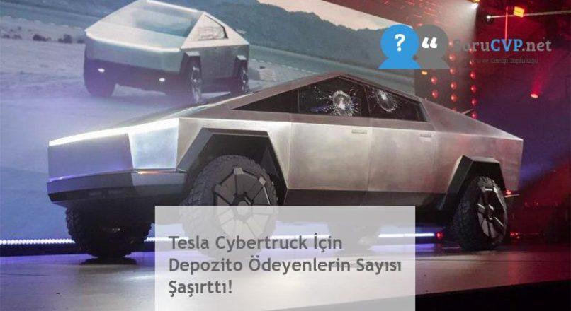 Tesla Cybertruck İçin Depozito Ödeyenlerin Sayısı Şaşırttı!