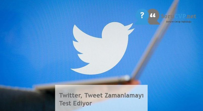 Twitter, Tweet Zamanlamayı Test Ediyor