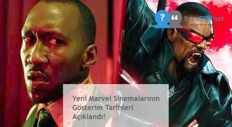 Yeni Marvel Sinemalarının Gösterim Tarihleri Açıklandı!
