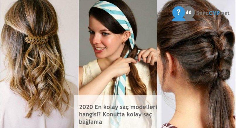 2020 En kolay saç modelleri hangisi? Konutta kolay saç bağlama
