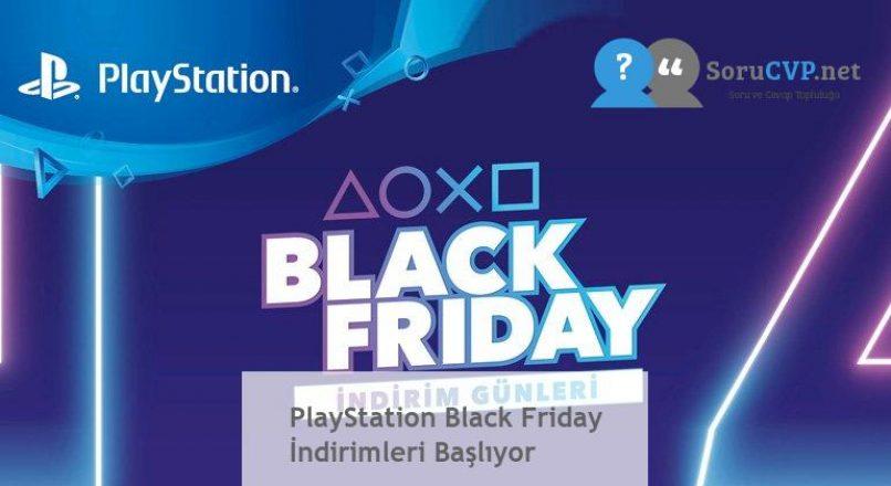 PlayStation Black Friday İndirimleri Başlıyor