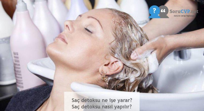 Saç detoksu ne işe yarar? Saç detoksu nasıl yapılır?