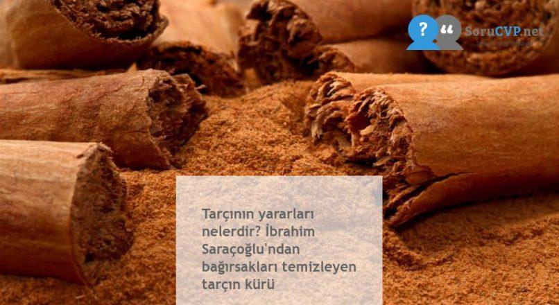 Tarçının yararları nelerdir? İbrahim Saraçoğlu'ndan bağırsakları temizleyen tarçın kürü