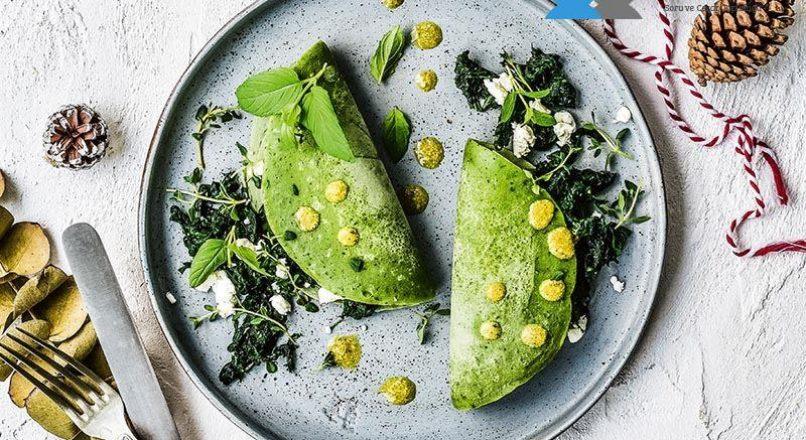 Yeşil krep