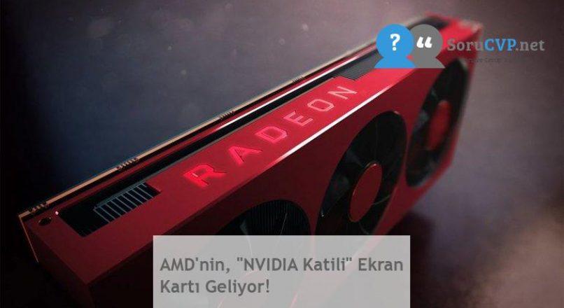 """AMD'nin, """"NVIDIA Katili"""" Ekran Kartı Geliyor!"""