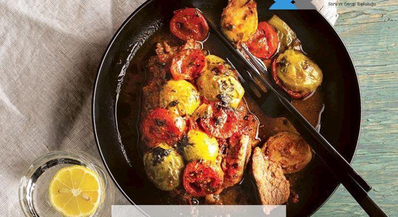 Antrikotlu Brüksel lahanası dizmesi