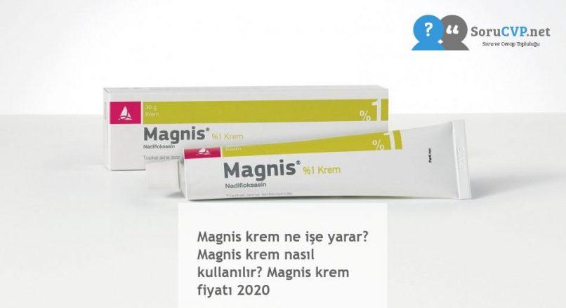 Magnis Krem : Ne işe yarar? Nasıl kullanılır? Krem Fiyatı 2020