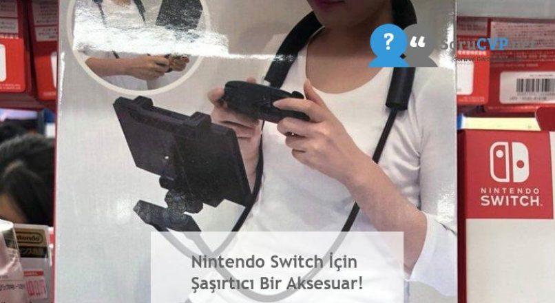 Nintendo Switch İçin Şaşırtıcı Bir Aksesuar!