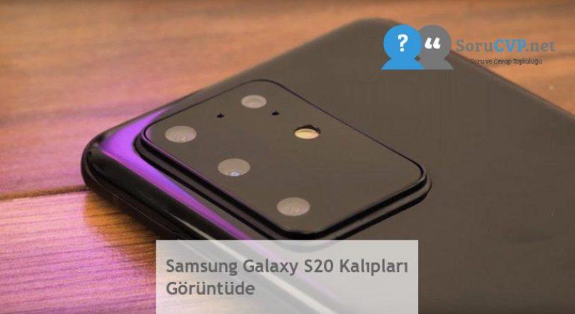 Samsung Galaxy S20 Kalıpları Görüntüde