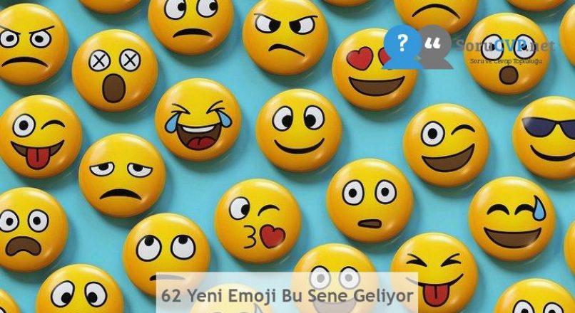 62 Yeni Emoji Bu Sene Geliyor