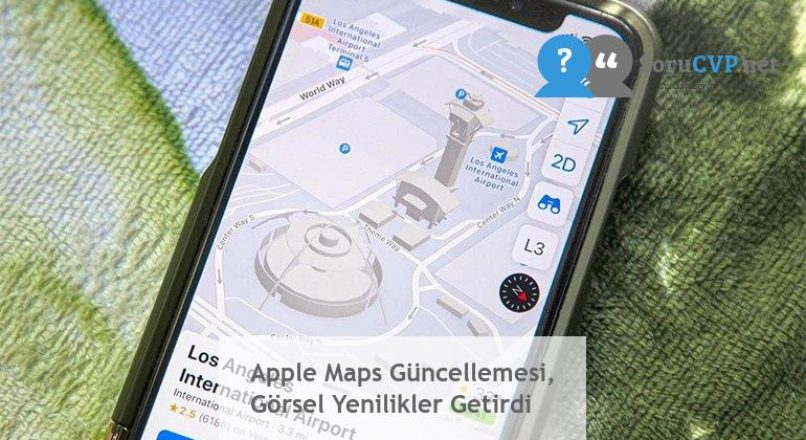 Apple Maps Güncellemesi, Görsel Yenilikler Getirdi