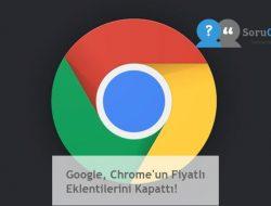 Google, Chrome'un Fiyatlı Eklentilerini Kapattı!