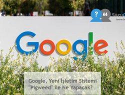 """Google, Yeni İşletim Sistemi """"Pigweed"""" ile Ne Yapacak?"""