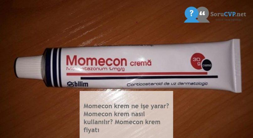 Momecon Krem : Ne İşe Yarar? Nasıl kullanılır? Krem Fiyatı 2020