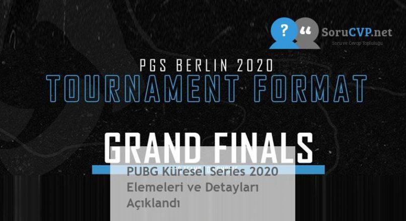PUBG Küresel Series 2020 Elemeleri ve Detayları Açıklandı