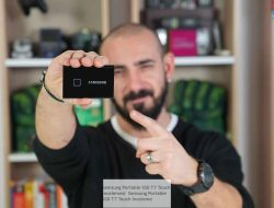 Samsung Portable SSD T7 Touch  incelemesi  Samsung Portable SSD T7 Touch İnceleme