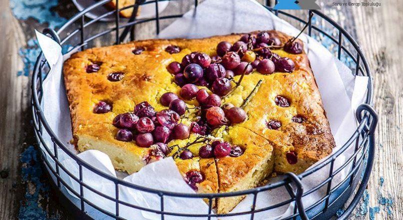 Üzümlü lorlu kek kurabiye