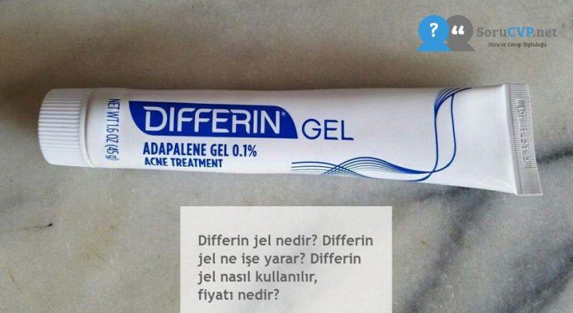 Differin jel nedir? Differin jel ne işe yarar? Differin jel nasıl kullanılır, fiyatı nedir?