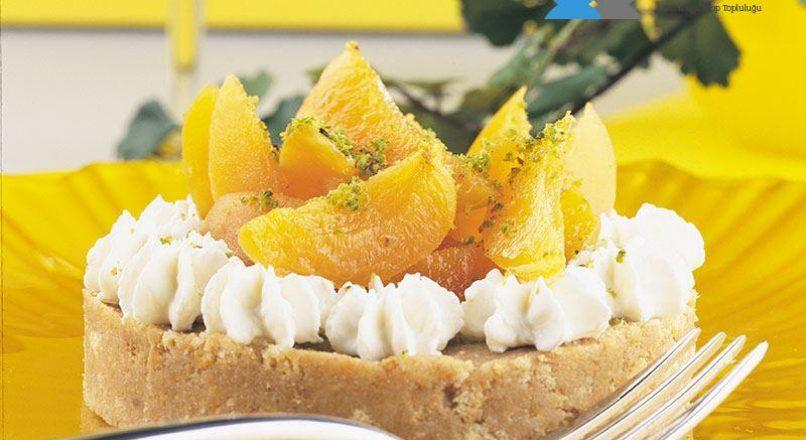 Kayısılı mini cheesecake