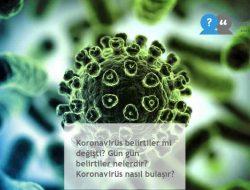 Koronavirüs belirtiler mi değişti? Gün gün belirtiler nelerdir? Koronavirüs nasıl bulaşır?