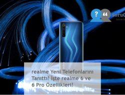 realme Yeni Telefonlarını Tanıttı! İşte realme 6 ve 6 Pro Özellikleri!