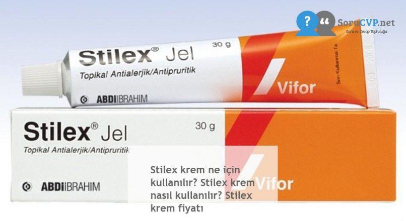 Stilex krem ne için kullanılır? Stilex krem nasıl kullanılır? Stilex krem fiyatı