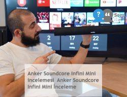 Anker Soundcore Infini Mini incelemesi  Anker Soundcore Infini Mini İnceleme