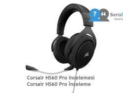 Corsair HS60 Pro incelemesi  Corsair HS60 Pro İnceleme