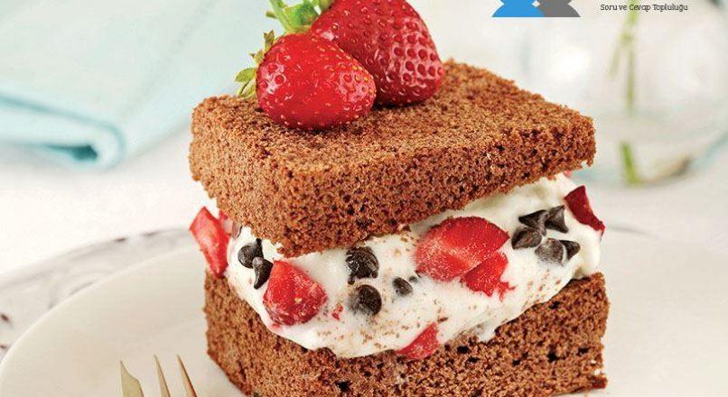 Dondurmalı brownie