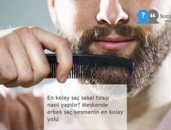 En kolay saç sakal tıraşı nasıl yapılır? Meskende erkek saç kesmenin en kolay yolu