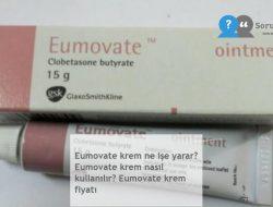 Eumovate krem ne işe yarar? Eumovate krem nasıl kullanılır? Eumovate krem fiyatı