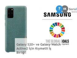 Galaxy S20+ ve Galaxy Watch Active2 İçin Kıymetli İş Birliği!